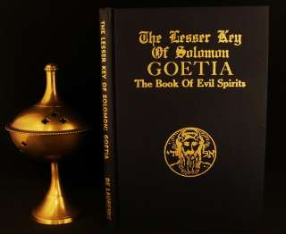 OCCULT LESSER KEY SOLOMON GOETIA GRIMOIRE MAGIC MASONIC CABALA