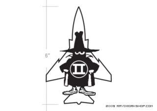 The Spook Sticker DieCut Decal F 4 F4 Phantom Ghost
