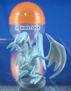 NEW RETIRED TOMY YUGIOH BUILDABLE MINI FIGURE BLUE EYES WHITE DRAGON