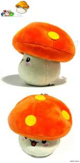 Monster Mmushroom Plush toy plushie doll /w suctioncup 6 kawaii cute