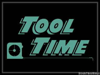 Home Improvement Tool Time logo Decal Sticker (2x)