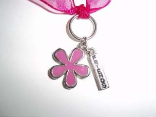 BEST FRIENDS GIRLS NECKLACES FLOWER PURPLE PINK CHILD