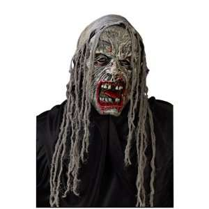 Gauze Zombie Bloody Lip Skull Mask: Toys & Games