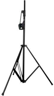 AMERICAN DJ Crank 2 Pro Audio Light Truss Black Tripod Stand w/Crank