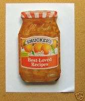 NEW SMUCKERS JELLY BEST LOVED RECIPES COOKBOOK BOOK NEW