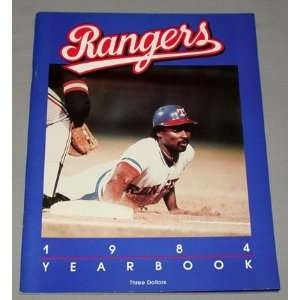 1984 Texas Rangers Yearbook Texas Rangers Books