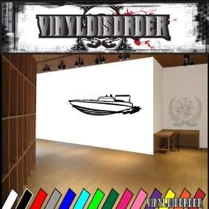 Boat Boats Large Vinyl Decal Stickers 012