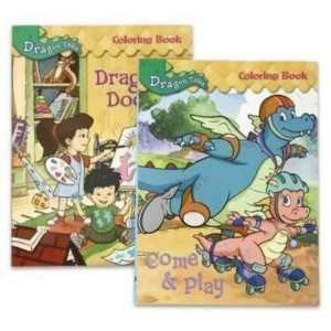 Outstanding Dragon Tales Coloring Book Composition