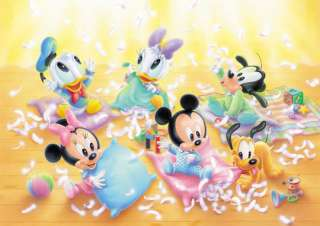 Tenyo Japan Jigsaw Puzzle D 300 166 Disney Mickey Baby (300 Pieces