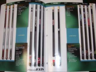 DMI Sports Catalog~Pool~Table Tennis/Hockey~Legend Cues
