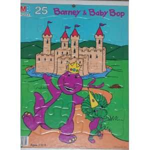 Baby Bop 25 Piece Frame Tray Puzzle by Milton Bradley Toys & Games