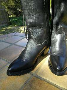 VINTAGE Worn Once 8.5 HARLEY DAVIDSON Motorcycle HH Double H Cowboy