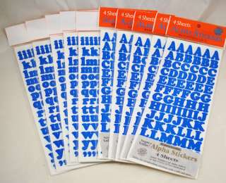 3310pc Alphabet Letters Numbers Stickers Scrapbooking 782993332244