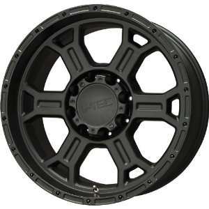 V Tec Raptor Matte Black Wheel (17x8/5x139.7mm
