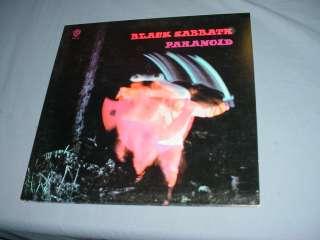 BLACK SABBATH paranoid LP Record BSK3104
