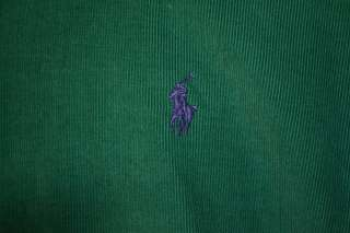RALPH LAUREN BLAKE LONG SLEEVE 100% COTTON GREEN CORDUROY SHIRT MENS