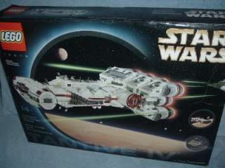 TANTIVE IV Blockade Runner Star Wars Lego Set 10019 New Sealed