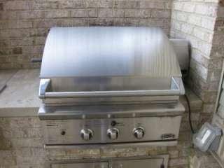 DCS Stainless Steel Grill, Side Burner, Rotisserie, Light   Natural
