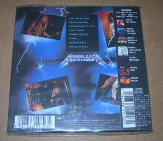 METALLICA Ride The Lightning 2003 Japan mini lp cd NEW