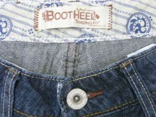 NWT~BOOTHEEL JEANS SHERYL CROW~FONTANA INDIAN HEAD POCKETS BLUE JEANS
