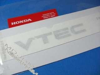 JDM 87 92 OEM HONDA CIVIC CRX VTEC DECAL EF8 B16A OEM