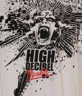 Fender Tee T Shirt Guitar High Decibel Rock & Roll 2XL