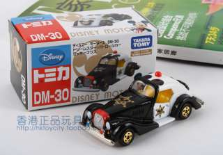 DISNEY MOTORS DIECAST DM 30 DREAM STAR MICKEY PATROL CAR 427087