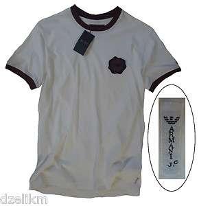 Armani Jeans Logo T Shirt Crew Neck Tee Szs S,M,L & XXL(US) or M,L,XL