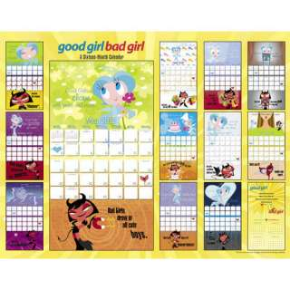 Good Girl Bad Girl 2012 Wall Calendar   CALENDARS
