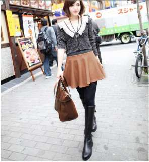 Hot Sale Lady Sweety Fashionable Polyester Linen Skirts