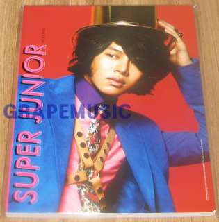 SUPER JUNIOR MR.SIMPLE HEECHUL NOTEBOOK 2011 SM OFFICIAL GOODS