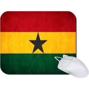 Rikki Knight Ghana Flag Mouse Pad Mousepad   Ideal Gift