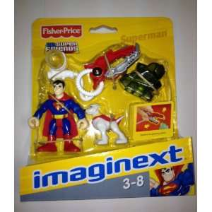Imaginext DC Super Friends Mini Figure Superman Toys & Games