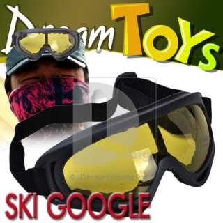 Winter Cold sun Snowmobile Motorcycle Off Road Ski Goggle Glasses
