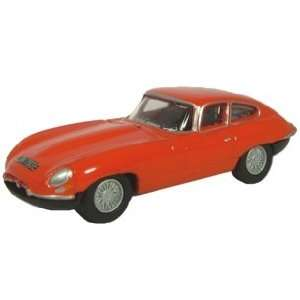 Jaguar E Type Coupe 1:76 scale from Oxford Diecast: Toys