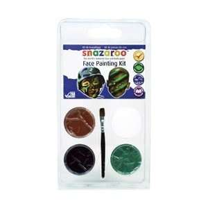 Reeves Snazaroo Face Painting Mini Theme Kit Camouflage; 3