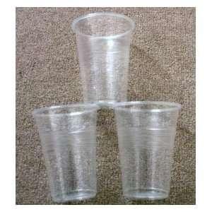 nupik 50 x Plastic Half Pint Disposable Glasses