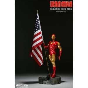 Classic Iron Man Polystone 1/4 Scale Comiquette Toys