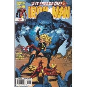 Marvel Comics Iron Man Vol.3 No.7 BOB HARRAS Books