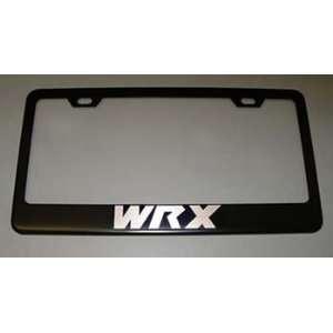 Subaru WRX Black License Plate Frame