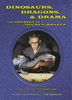 DINOSAURS, DRAGONS & DRAMA   CD ROM by Jim Danforth   Fantasy/Sci Fi