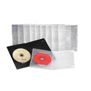 Slim DVD Case Half Size of Standard DVD Case   10 Pack