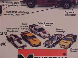 OLD RARE ~TOY DRAG RACE STOCK CAR PLASTIC MODEL KITS AD~ ORIGINAL