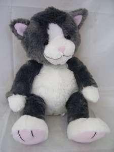 KOHLS Gray & White Kitty Cat Plush If You Give A Cat Cupcake Stuffed