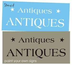 STENCIL 2 sizes Antiques you paint country Primitive