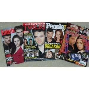 Robert Pattinson, Kristen Stewart various, superstars Books