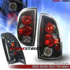 Toyota Tacoma Tail Lights Black Altezza Clear Taillights 2005 2006