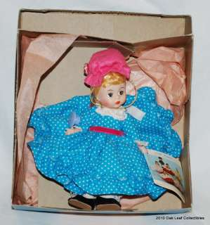 MADAME ALEXANDER DOLL MISS MUFFET   In box W / WT!. MINT in box with