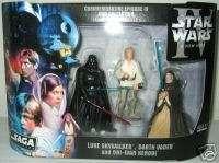 Star Wars EPISODE IV Wal mart DVD COMMEMORATIVE 3 Pack