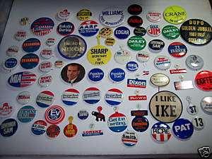 Vtg Richard Nixon Ford Political Campaign Button & lot